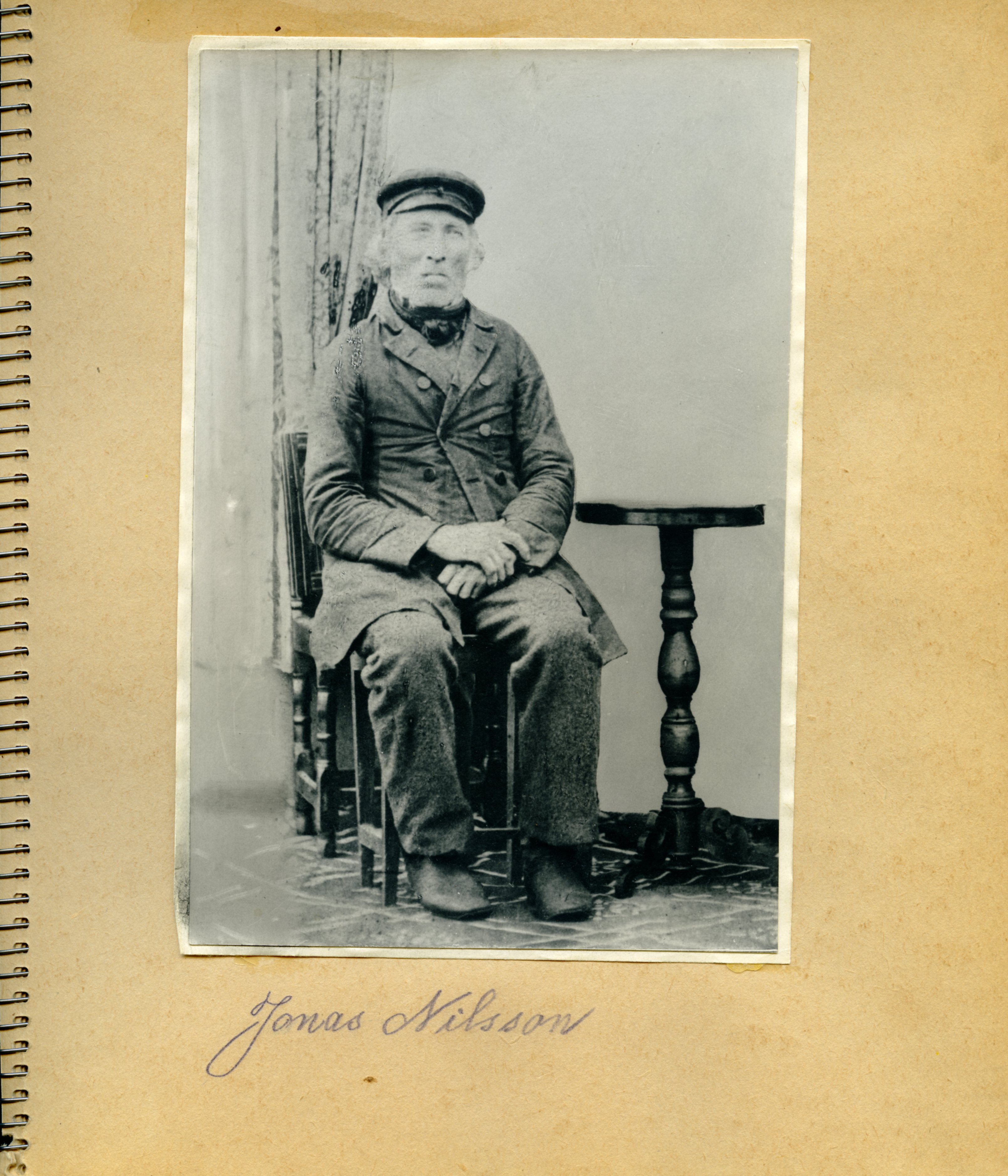 Jonas Nilsson, Olofs pappa.