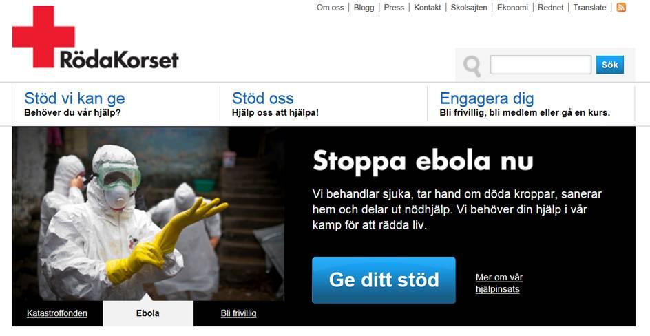 Röda korset ebola