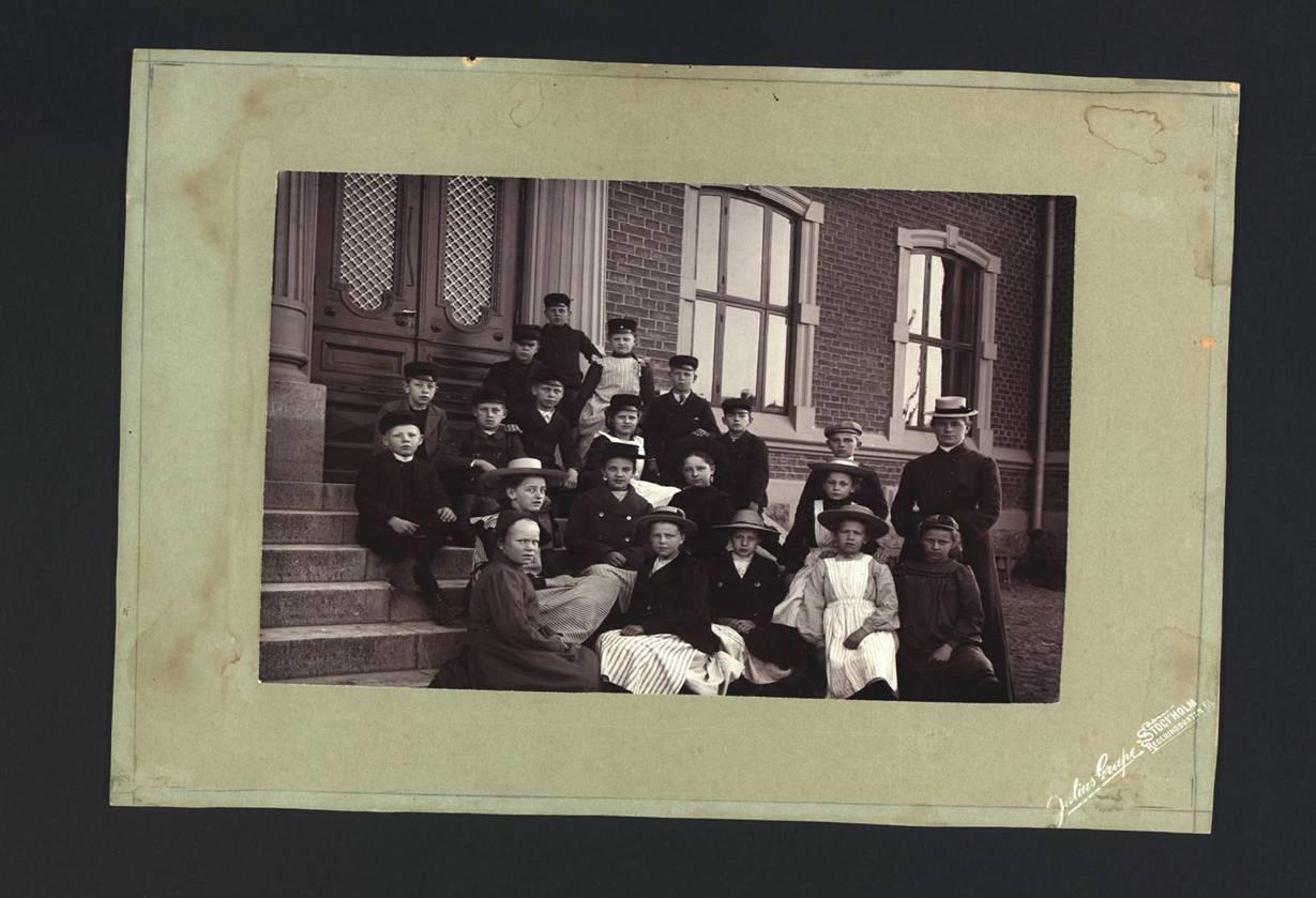 Ida skolfoto 1904