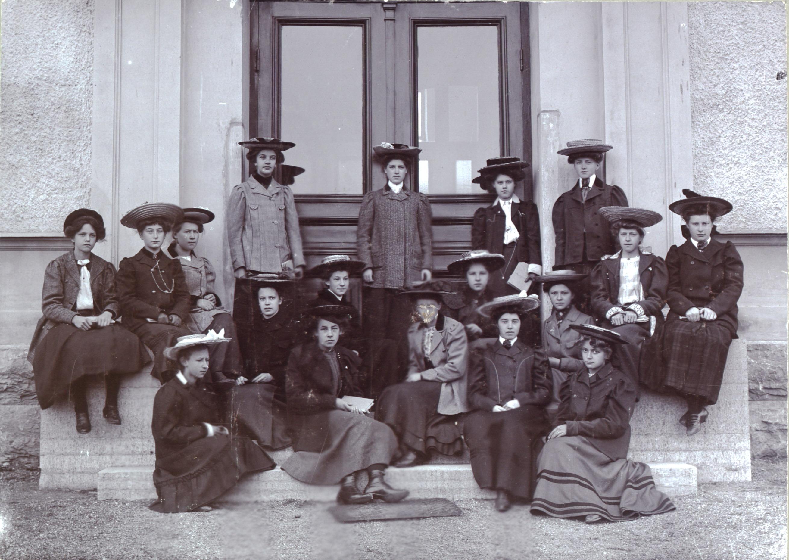 Skolfoto från 1904