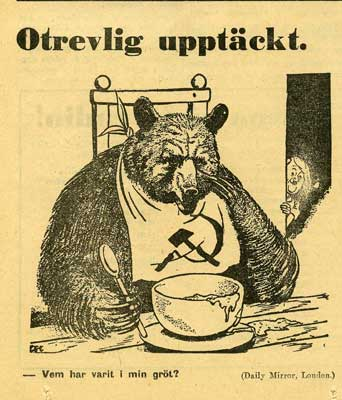 En svensk tiger for mycket trots yttrandefrihet