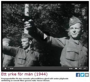 propagandafilm svenska försvaret