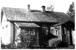 I ett sådant här hus bodde Helmi