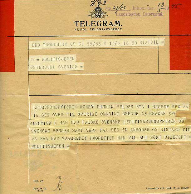 motståndsrörelsen norge andra världskriget